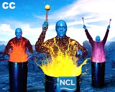 Spectacol NCL, Blue Man Group